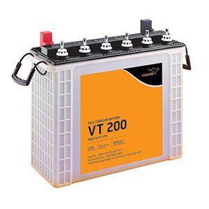 V-Guard Vt200 200Ah Tall Tubular Inverter Battery