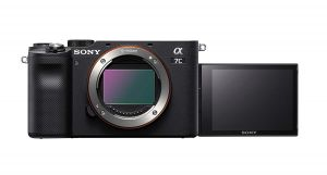 Sony Alpha ILCE-7C Compact Full Frame Camera (4K, Flip Screen, Light Weight, Real time Tracking, Content Creation) - Black