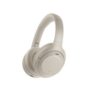 Sony WH-1000XM4 Industry Leading Wireless Noise Cancelling Headphones, Bluetooth Headset with Mic for Phone Calls, 30 Hours Battery Life, Quick Charge, Touch Control & Alexa Voice Control – (Silver)