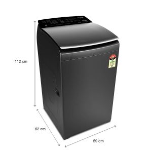 360° Bloomwash Pro 7.5 Kg Fully Automatic Top Load Washing Machine ( In-Built Heater, Graphite, 5 Star)