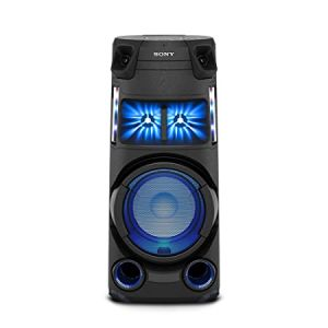 Sony MHC-V43D High Power Party Speaker with Bluetooth Technology (Karaoke,Gesture Control, Party Light) - Black