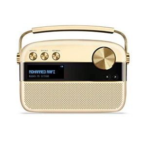Saregama Carvaan Champagne Gold - Sound by HARMAN/ KARDON 10 Bluetooth Home Audio Speaker  (Champagne Gold, Stereo Channel)